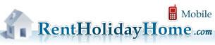rentholidayhome.com mobile home page